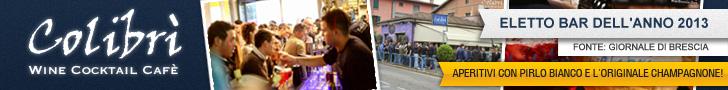 Colibrì: eletto miglior bar Estate del 2016 dal GdB