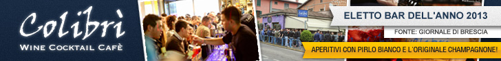 Colibrì: miglior bar per aperitivi del 2013