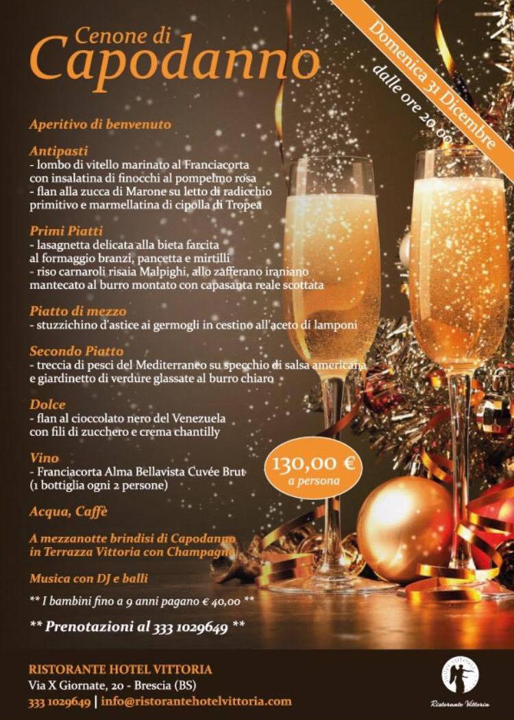 Capodanno 2018 In Centro Città Hotel Vittoria Brescia