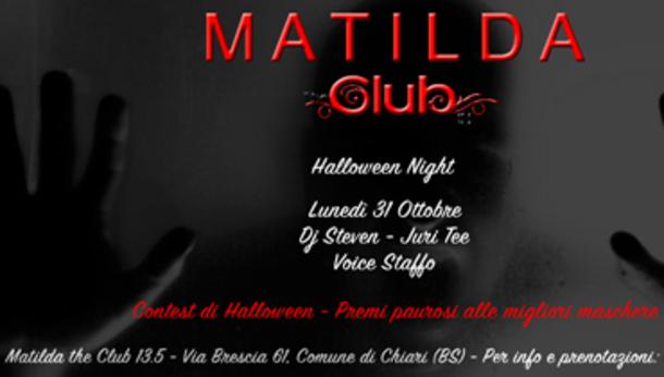 Halloween 2016 alla discoteca Matilda 13,5 The Club