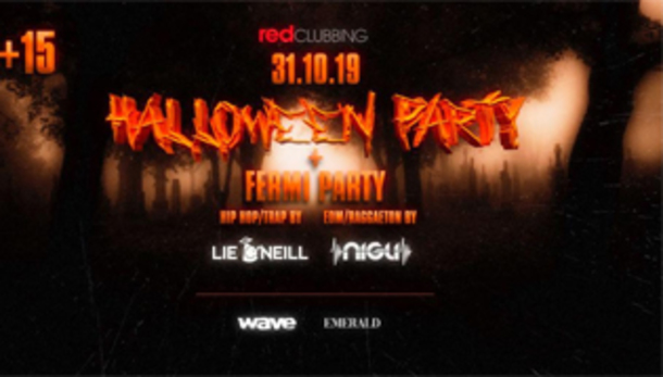 Halloween 2019 @ discoteca Red Clubbing
