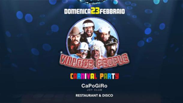Carnevale 2020 alla Discoteca Capogiro