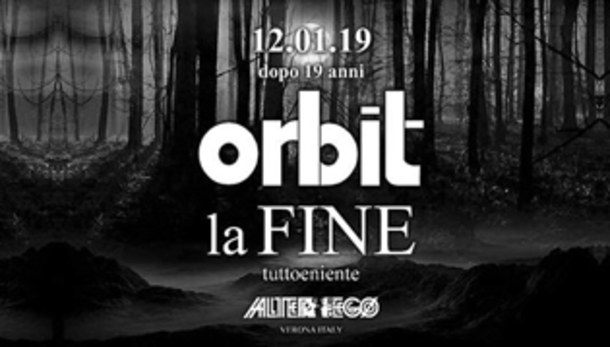 Orbit 2019 alla discoteca alterego club di Verona