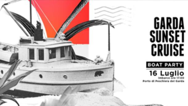 Garda Sunset Cruise - Official Boat Party, Lago di Garda