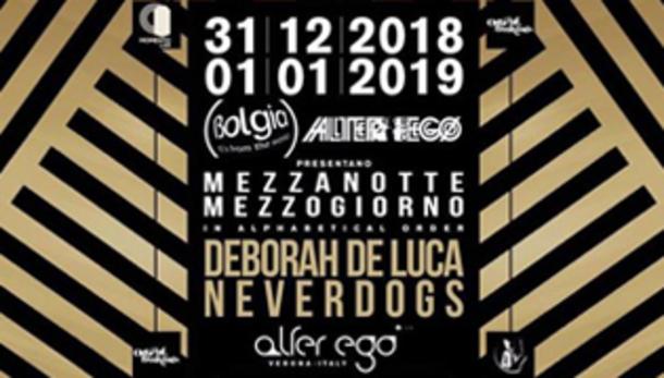 Capodanno 2019 @ discoteca Alter Ego di Verona