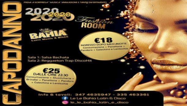 Capodanno 2020 alla discoteca Le Le Bahia