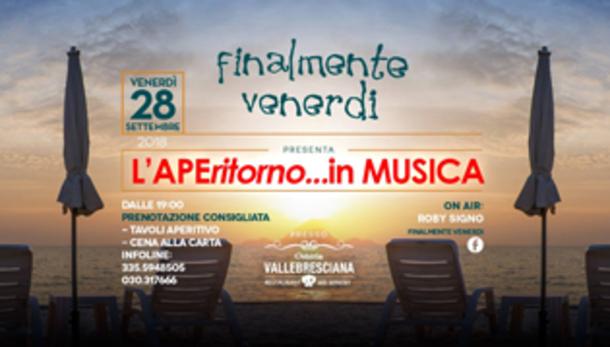 Aperitorno in musica in Valle Bresciana