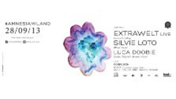 Extrawelt e Silvie Loto alla discoteca Amnesia