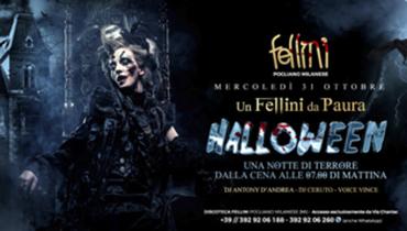 Halloween 2018 alla discoteca Fellini