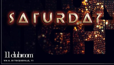 Sabato sera dell'Eleven 11 ClubRoom