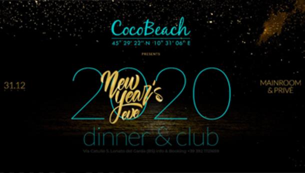Capodanno 2020 @ discoteca Cocobeach