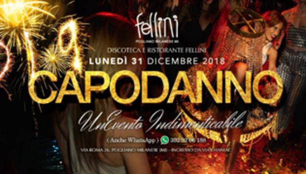 Capodanno 2019 alla discoteca Fellini