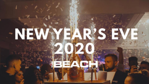 Capodanno 2020 @ discoteca The Beach