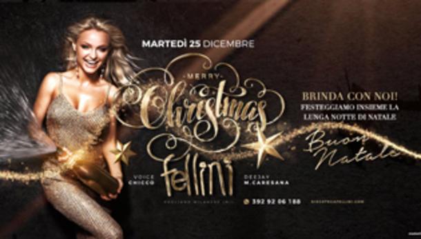 Natale 2018 @ discoteca Fellini!