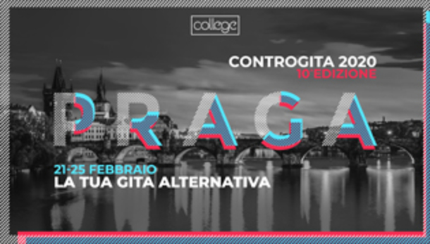 Controgita 2020 a Praga con College, Young is Fun!