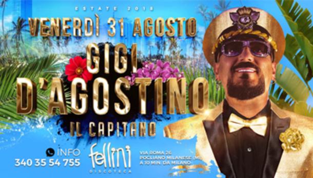 Gigi D'Agostino @ discoteca Fellini