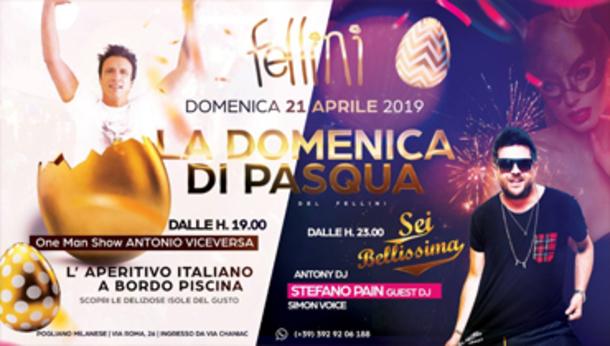Pasqua 2019 @ discoteca Fellini