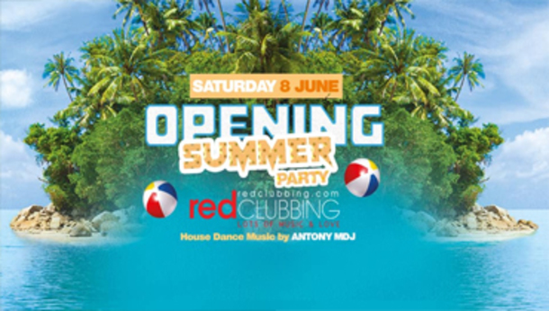 Opening Party Summer 2019 @ Red Clubbing!