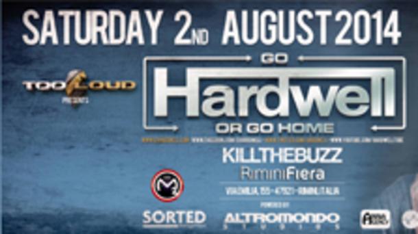 Hardwell (DJ n. 1 al mondo) @ Fiera di Rimini