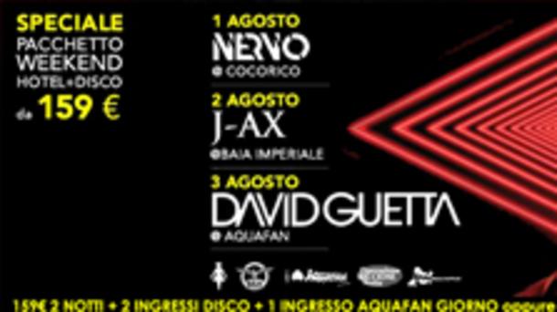 Speciale pacchetto weekend hotel + disco a Riccione!