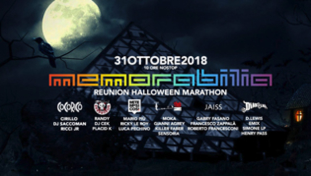 Memorabilia Reunion - Halloween Marathon a Riccione