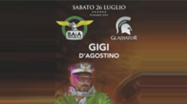 DJ Gigi D'Agostino @ discoteca Baia Imperiale