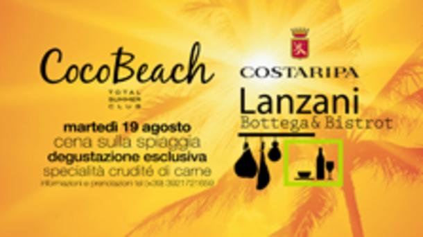 Cena sulla spiaggia @ discoteca Cocobeach