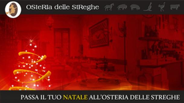 Natale 2017 all'Osteria Delle Streghe di Brescia