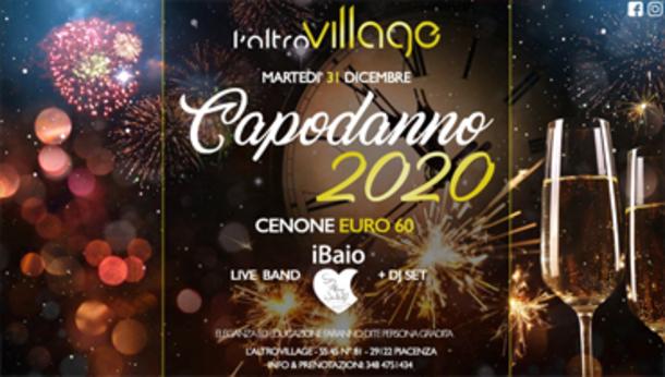 Capodanno 2020 all'Altro Village