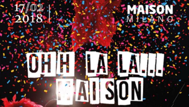 Carnevale 2018 @ Maison Club