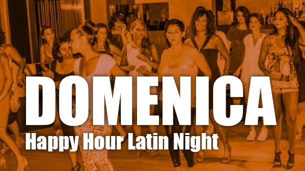 Happy hour Latin Night al Vanìta