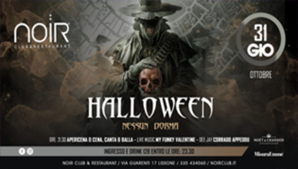 Halloween 2019 @ Noir Club & Restaurant