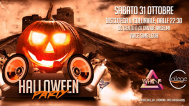 Halloween 2015 @ discoteca Il Coloniale