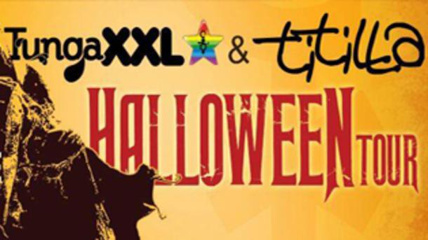 Titilla & Tunga XXL in Tour per Halloween 2015!