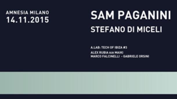 Sam Paganini @ discoteca Amnesia