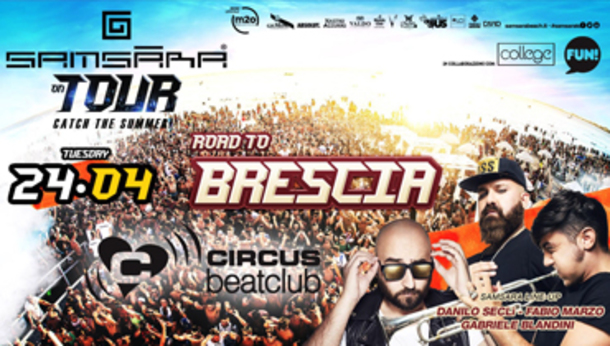 Samsara on Tour @ discoteca Circus beat club