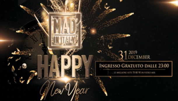 Capodanno 2020 @ Mad in Italy!