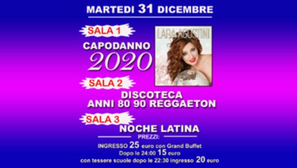 Capodanno 2020 @ discoteca Plaza Disco!