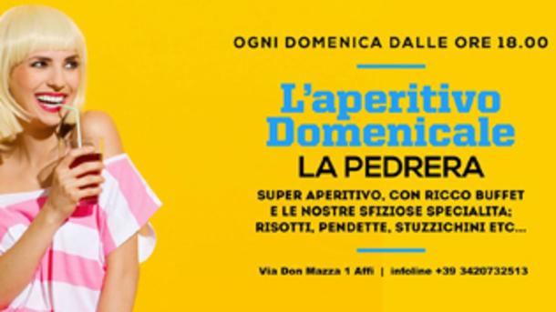 Aperitivo Domenicale by La Pedrera 7.2