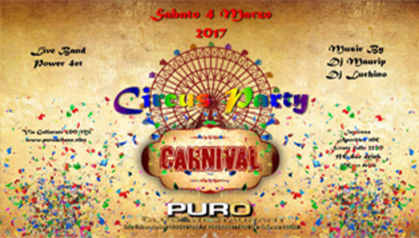 Carnevale 2107 @ Puro Milano