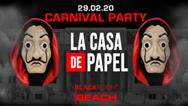 Carnevale 2020 @ discoteca The Beach