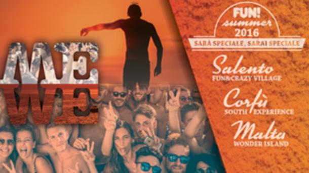 Fun Viaggi Evento 2016 Salento, Corfù e Malta!