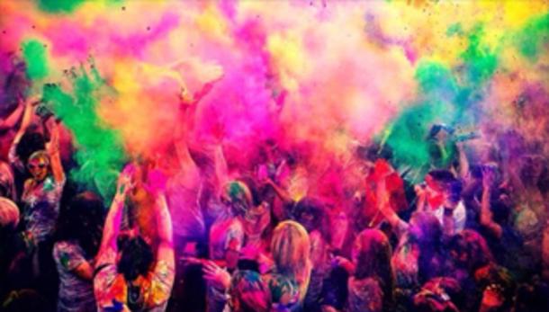 The Color Party @ discoteca Scaccomatto!