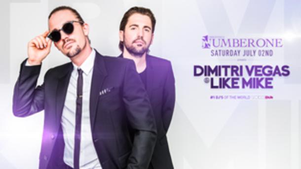 Dimitri Vegas & Like Mike @ discoteca Number One!