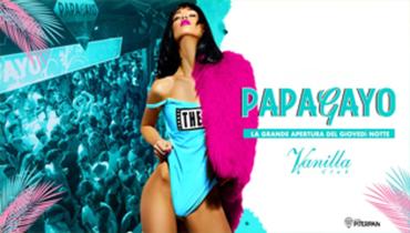 Papagayo @ discoteca Vanilla Club!