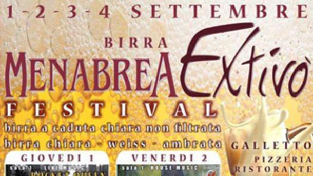 The Blue Jeans Menabrea Festival @ Extivò