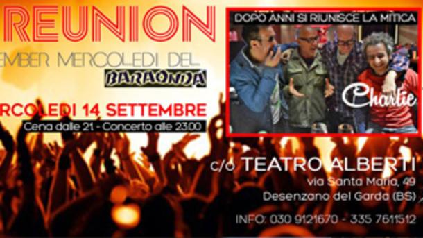 The Reunion - Remember Baraonda @ Teatro Alberti