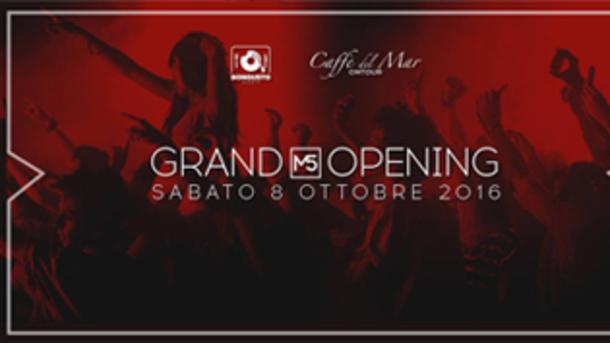 Grand Opening M5 | Ingresso Gratuito Entro le h 00.30