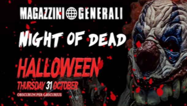 Halloween 2019 @ discoteca Magazzini Generali Milano