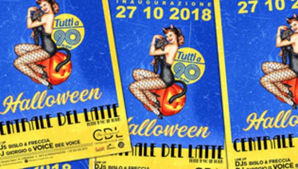 Halloween 2018 alla discoteca CdL Centrale del Latte!